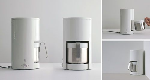 Coffee Maker Design Modern : Muji Coffee Maker Neu Black Regarding Modern Coffee Makers Modern Coffee Makers Intended For ...