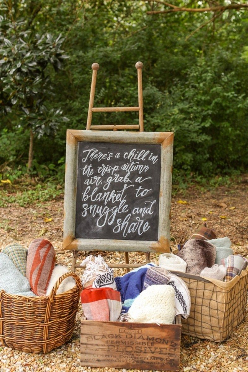 Fall wedding decoration ideas cheap  Budgetfriendly outdoor wedding ideas for fall   Wedding and