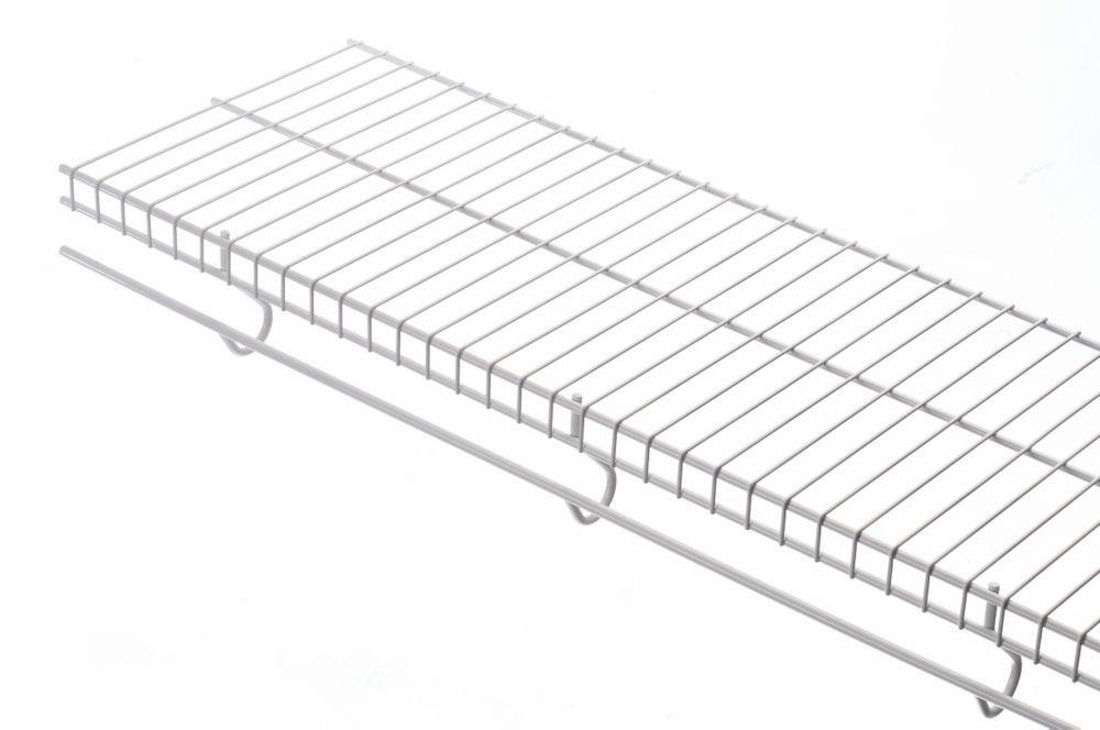 16 Inch X 8ft White Free Slide Shelf | stollen from me2 | Pinterest