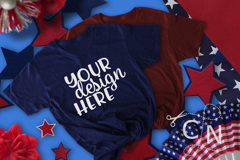 Patriotic Mockup Bundle Collection Shirt mockup, Mockup