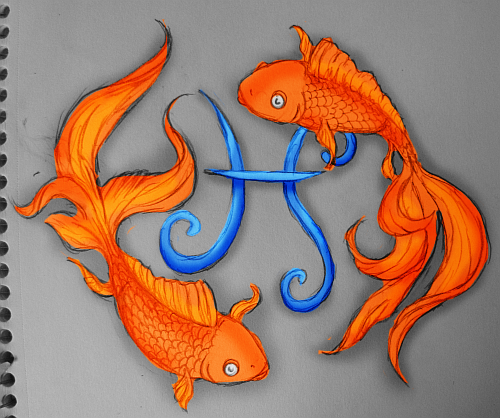 DeviantArt: More Like Pisces Tattoo Design 2 By