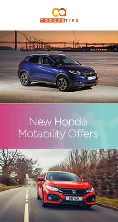 From the nippy-around-town new Honda Jazz to the off-road eating Honda HR-V, check out the range of Honda Motability cars