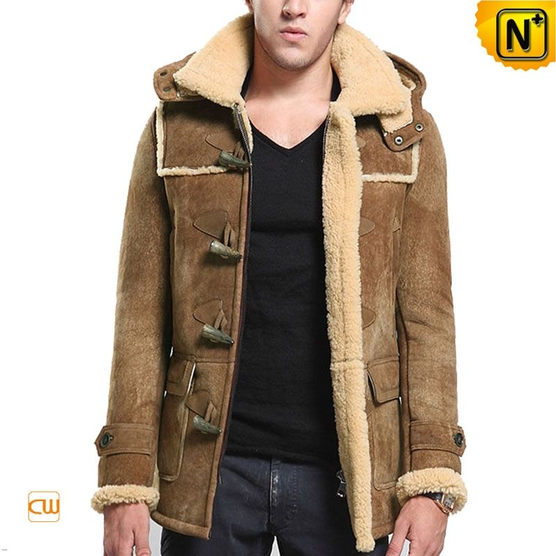Coziest yet utterly stylish shearling sheepskin jacket for men ...
