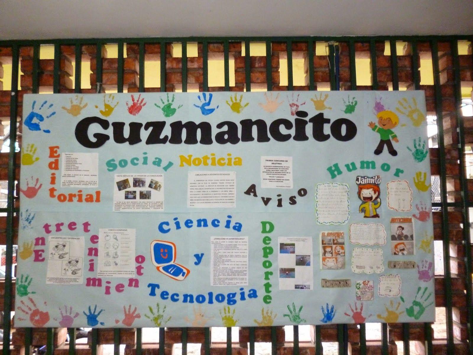 Periodico mural creativo buscar con google educaci n for Componentes de un periodico mural