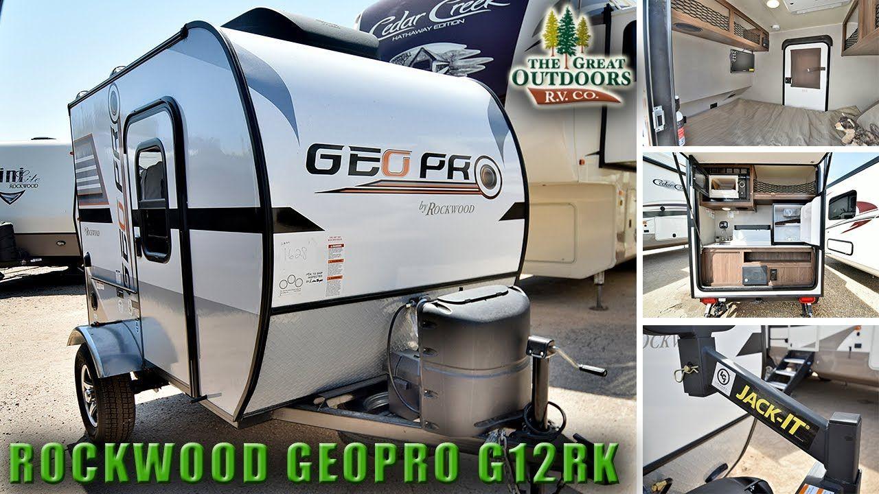 2018 SUPER LITE WEIGHT ROCKWOOD G12RK Geopro Teardrop