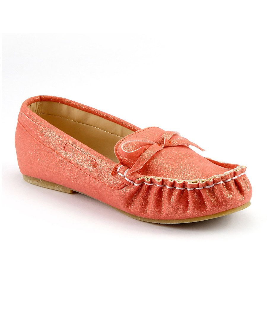 a192ec1a6a06b Look at this The Doll Maker Glitter Carmine Moccasin on #zulily today!