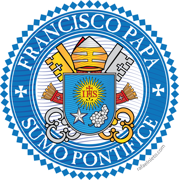 Escudo Papa Francisco | Papa francisco, Papa, Escudo