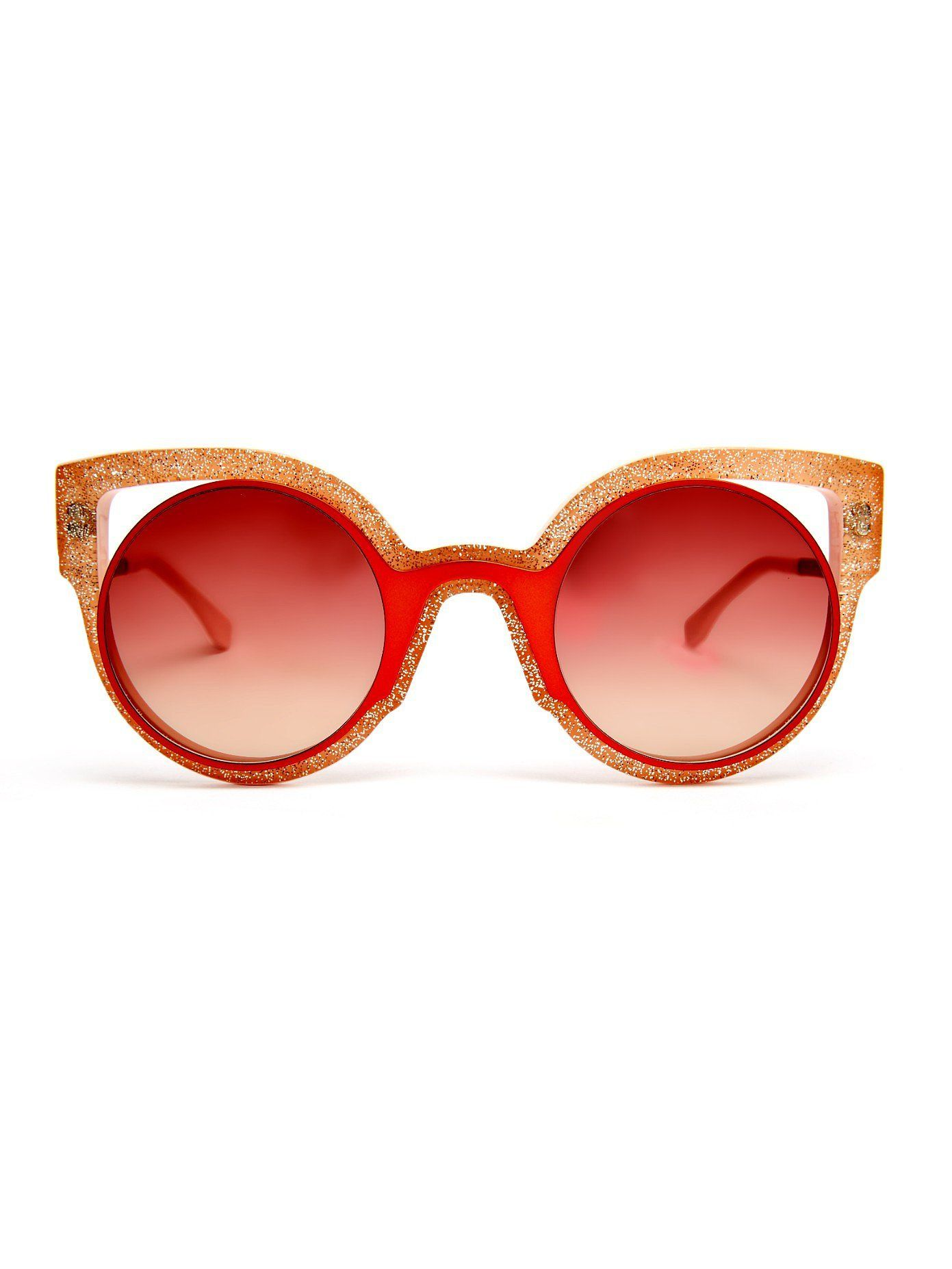 The Ultimate Sunglasses Guide 6 Trends 58 Pairs And Every Price Round Frame Sunglasses Fendi Glasses Fendi