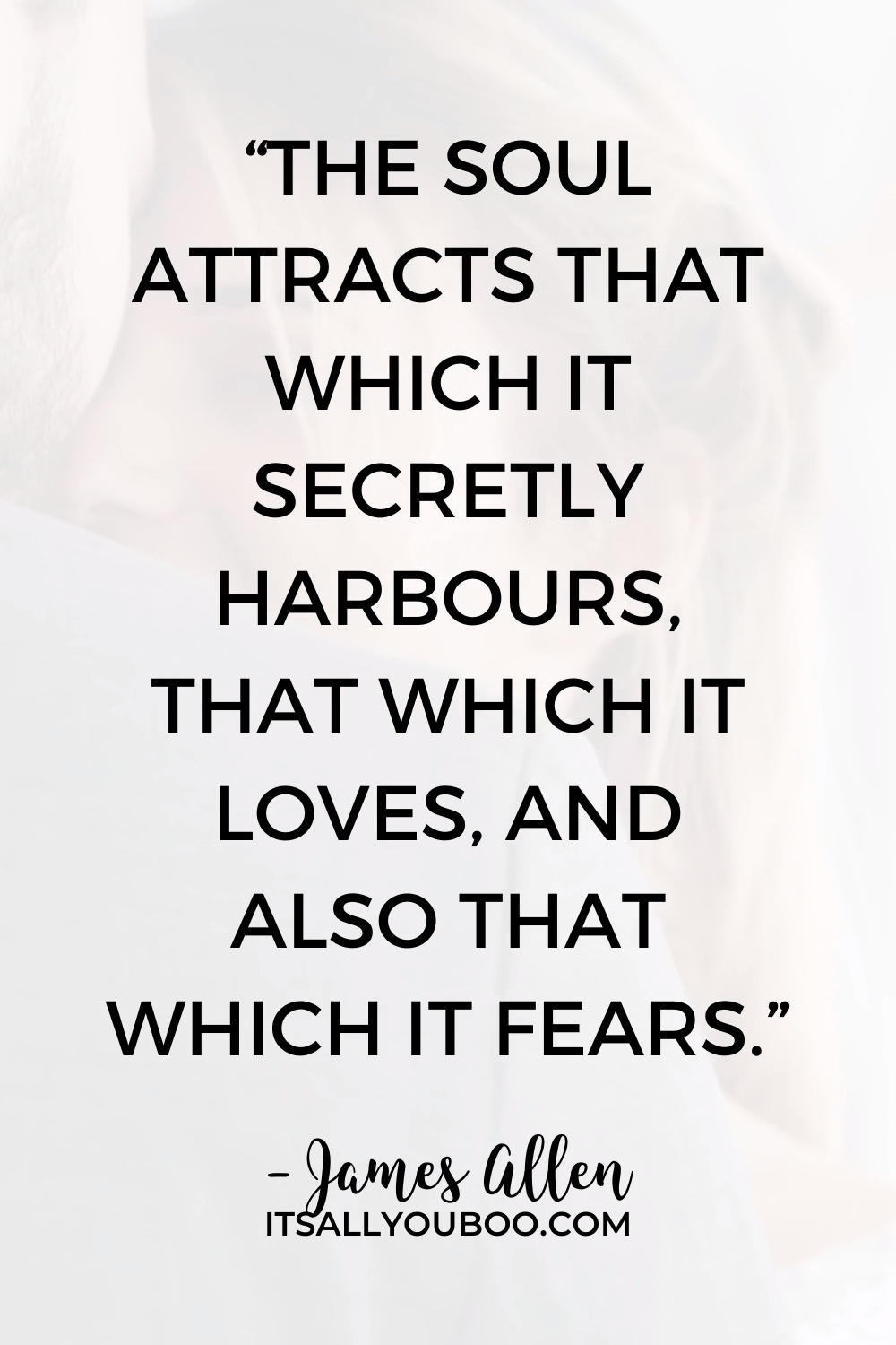 What is your soul attracting?