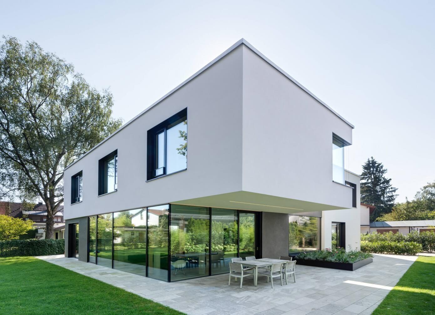 haus w by be planen architektur archi design. Black Bedroom Furniture Sets. Home Design Ideas