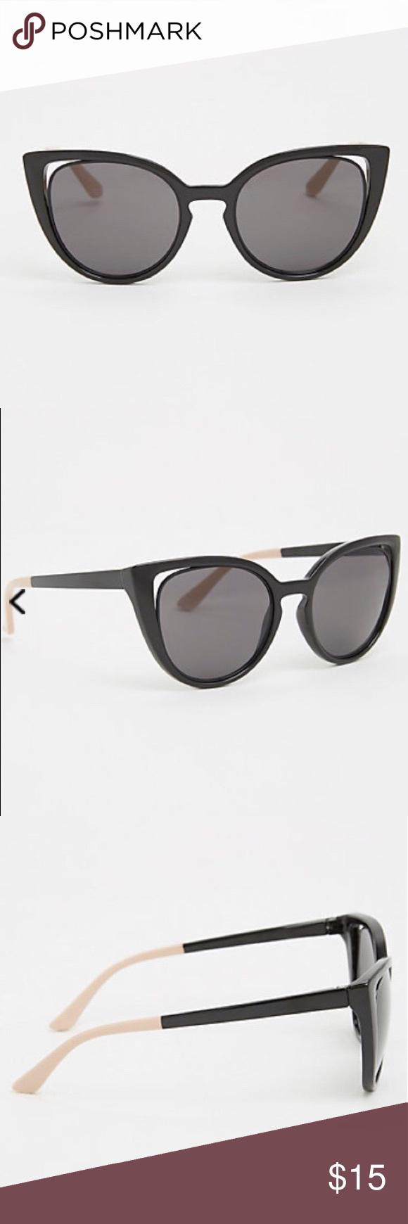 efada2fc9deb5 🐾 Cut out cateye sunglasses