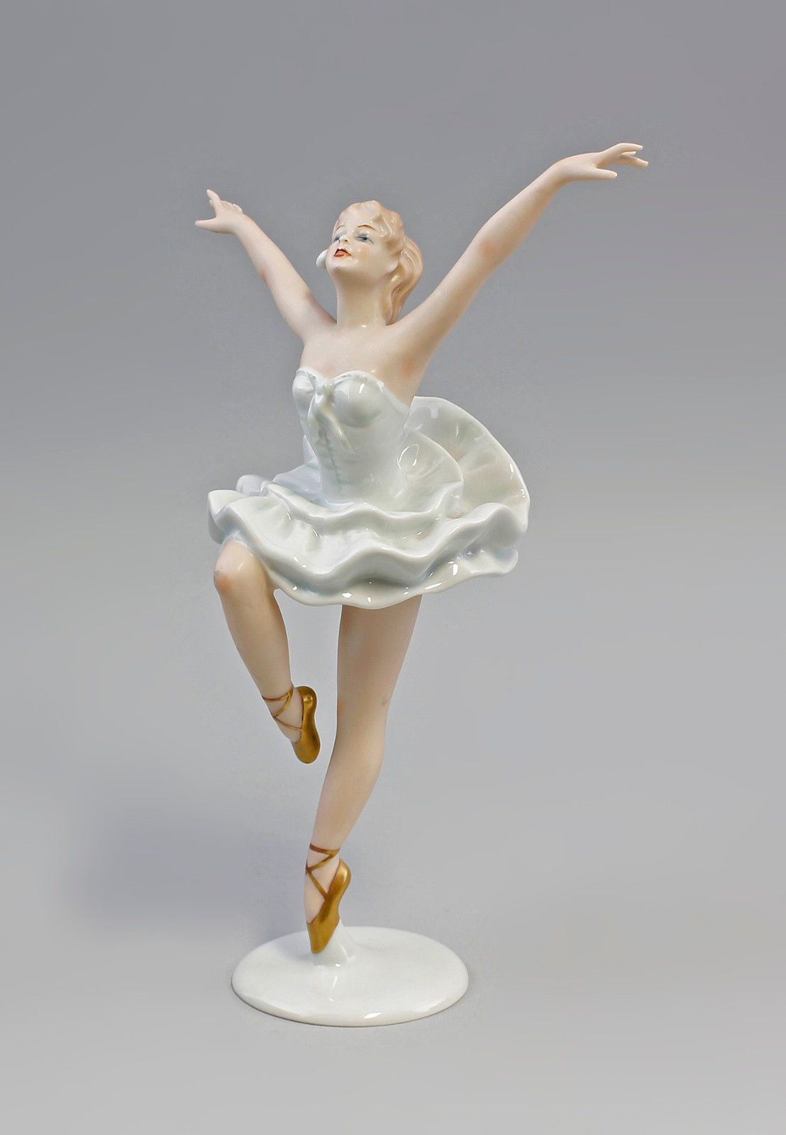 porcelaine personnage ballerine danseuse ballet danse wallendorf 7740025 ebay figurines. Black Bedroom Furniture Sets. Home Design Ideas