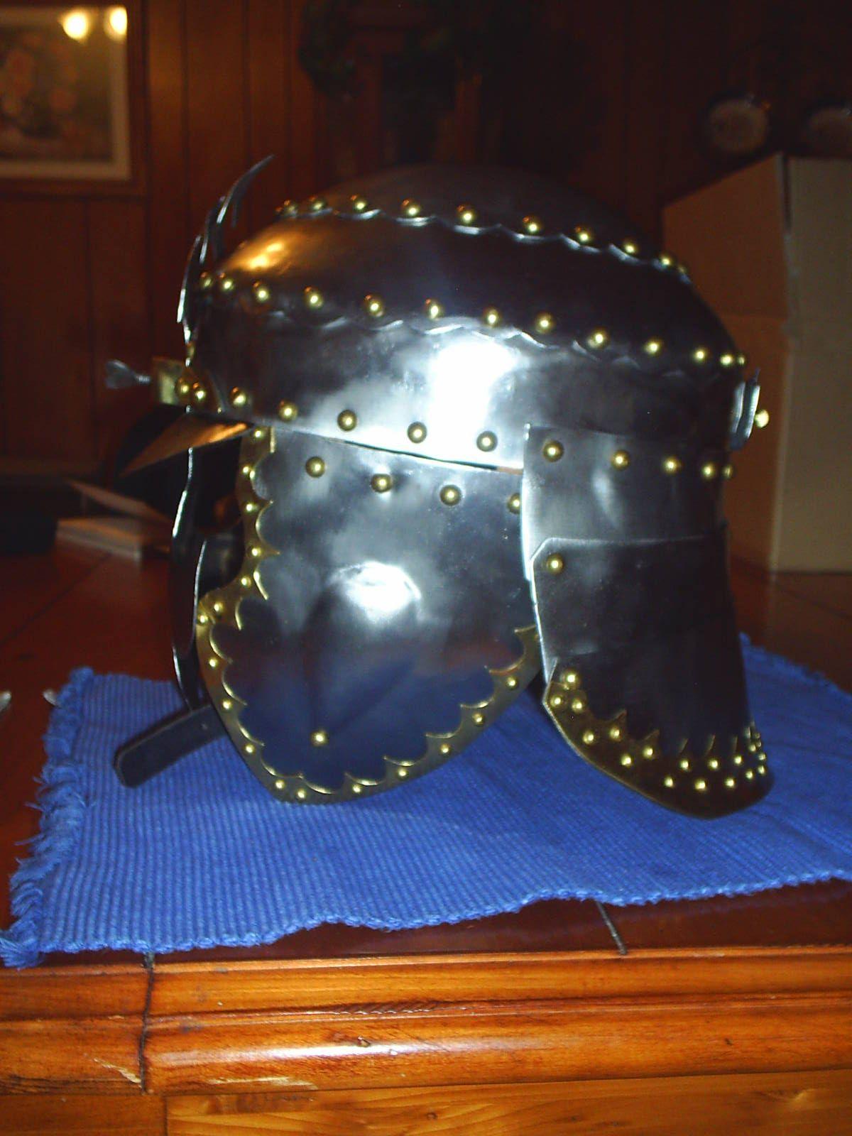 polish hussar helm twin oaks armoury riding helmets. Black Bedroom Furniture Sets. Home Design Ideas