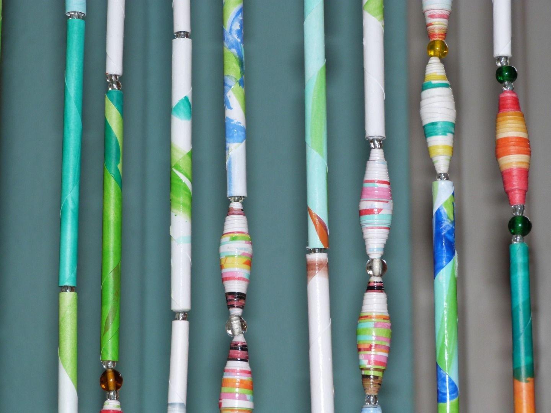 Rideaux perles de verre rideau de perles d co d corations murales par isika sur d co - Rideau de porte en perles ...
