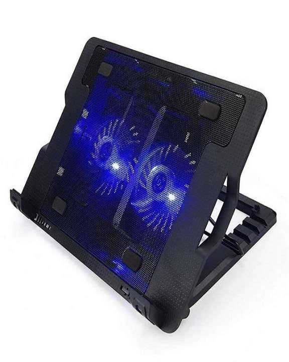 Ergostand Laptop Dual Double Fan Cooling Pad Laptop Cooling Pad