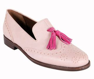 4187b8175b7 Steve Madden pink Brogue with Tassels