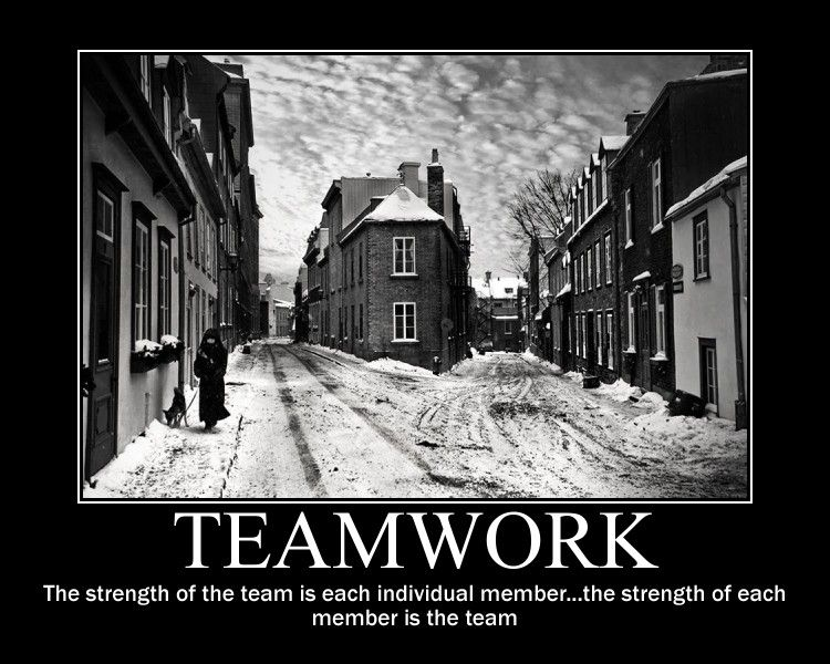 Funny Motivational Teamwork Quotes Quotesgram