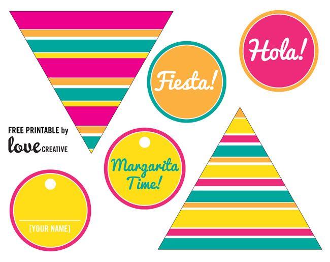Cinco De Mayo Free Printables Mexican Party Theme Mexican