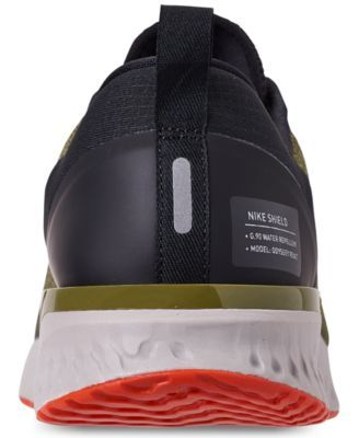 4eb185b079069 Nike Men s Odyssey React Shield Running Sneakers from Finish Line - Green  11.5