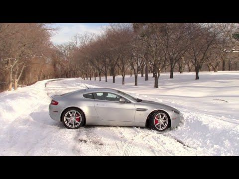 Driving An Aston Martin In The Snow YouTube Exotic Cpecab - Sports cars you can daily drive