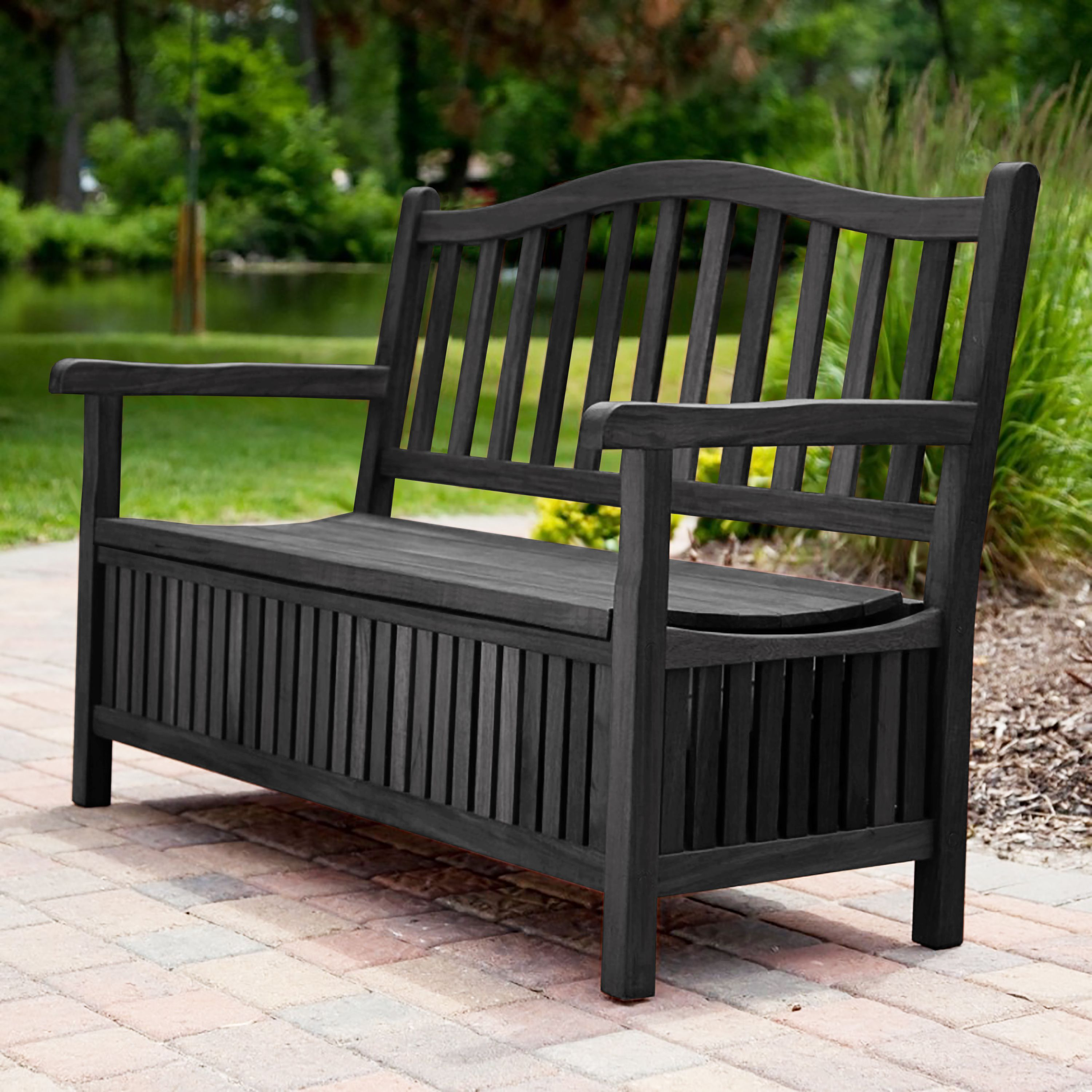 Locking No Porch Pirate Front Porch Bench No More Stealing My Packages Outdoor Bench Porch Bench Front Porch Bench