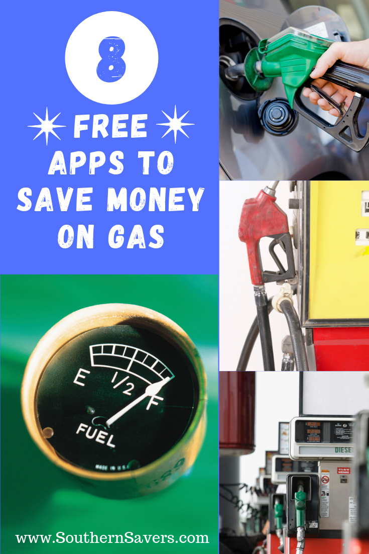 8 Free Apps to Save Money on Gas How to save gas, Saving
