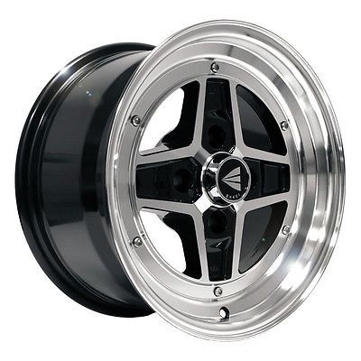 Auto Parts General Enkei 15 Apache Ii Performance Wheel Rim Black 15x8 4x114 3 0mm Motor Enkei 15 Apache Ii Perfo Wheel Rims Rims For Cars Wheel