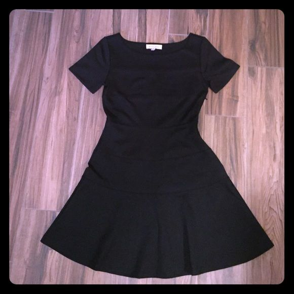"Little Black Dress Super cute LBD! Classic look, very Audrey Hepburn. Horizontal seam detail all the way down (pic 3). Fits like a 2. Approximately 26"" from armpit to bottom. Black Swan Dresses"