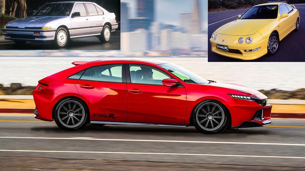 2020 Acura Integra Type R Concept Similar To Honda Civic