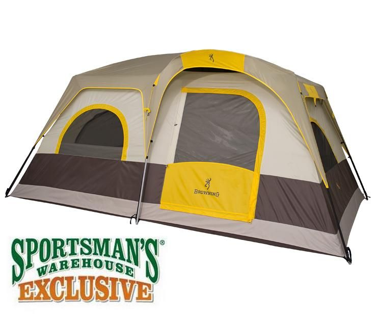 Browning Buckmark 6 Person Tent  sc 1 st  Pinterest & Browning Buckmark 6 Person Tent | Camping Gear | Pinterest ...