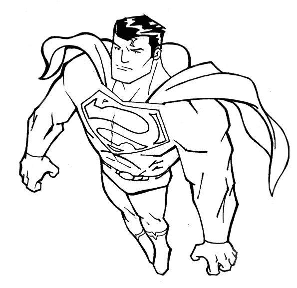 Coloringkidz Com Coloring Pages Superman Returns Superman