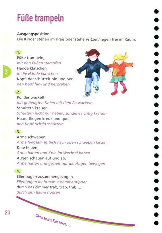 Körperteile kennenlernen im kindergarten