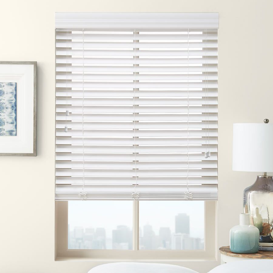 2 Premium Faux Wood Blinds From Selectblinds Com Faux Wood Blinds Blinds Premium Faux Wood Blinds