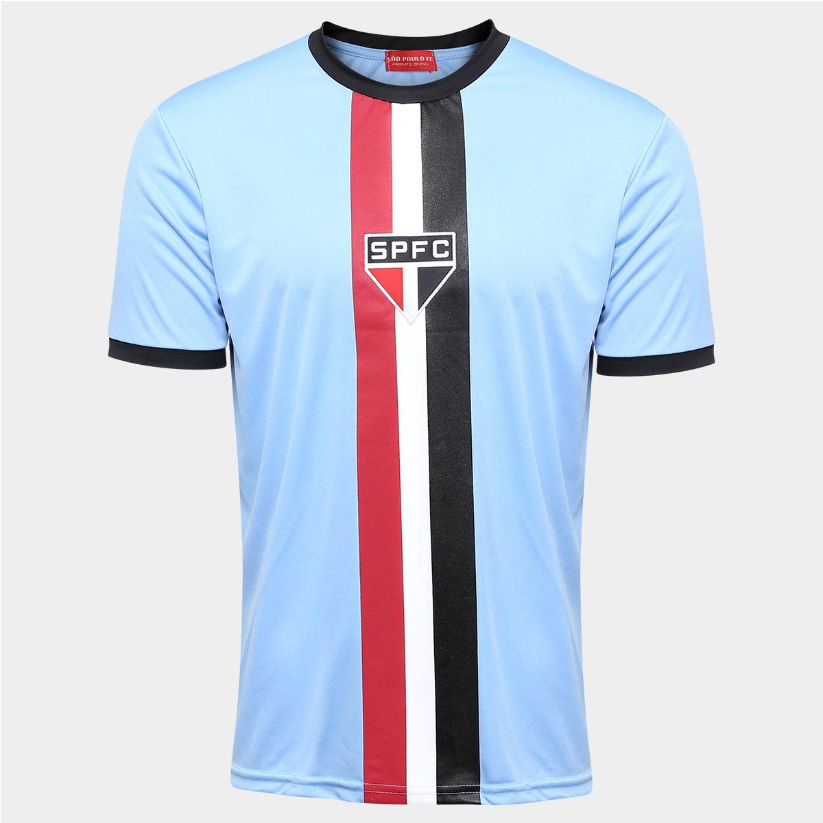 Camisa São Paulo Celeste - Edição Limitada - Azul+Preto  ae0e3c65494f8