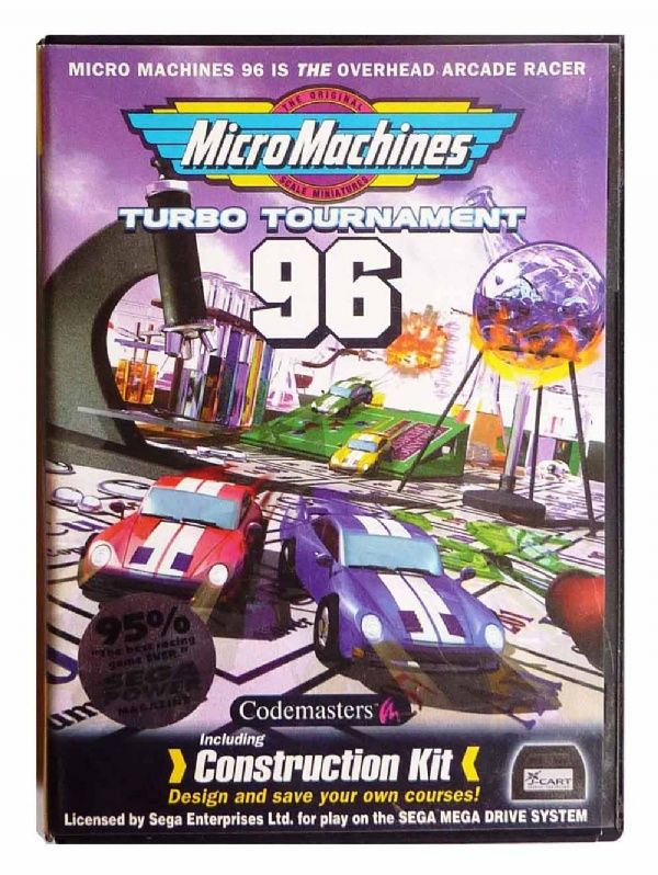 Buy Micro Machines: Turbo Tournament 96 Mega Drive Australia | GP
