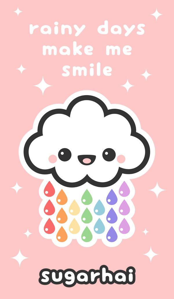 Candy Rain Cute Love Wallpapers Kawaii Quotes Cute Love