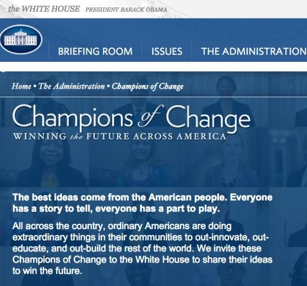 White House to Honor Two Native Americans as 'Champions of Change' - ICTMN.com
