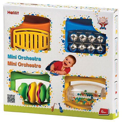 Halilit Baby Mini Orchestra Toy Set