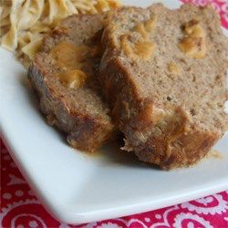 Meatloaf With Sour Cream Sauce Recipe Almond Cakes Sour Cream Recipes Cream Sauce Recipes