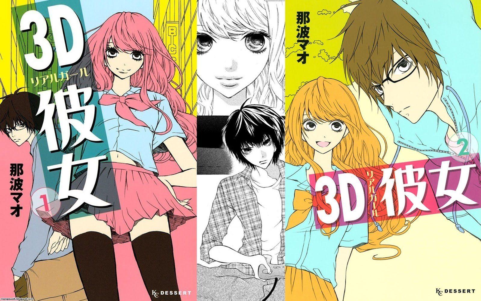Anime 3d Kanojo Real Girl Iroha Igarashi Hikari Tsutsui Wallpaper