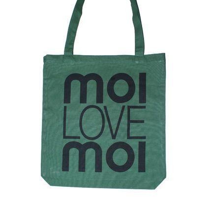 Eco shopping bag green