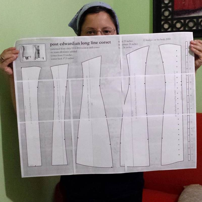 Step by step tutorial on how to enlarge or resize any sewing pattern ...