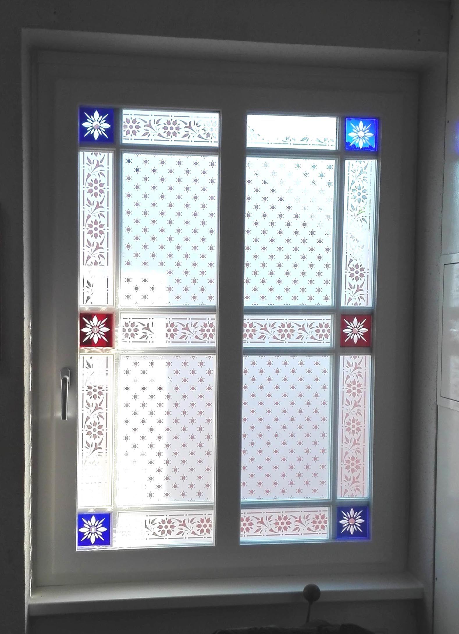 Ornamentglas Fenster