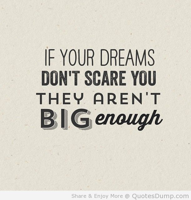 motivation picture quote motivation big dreams | QuotesDump