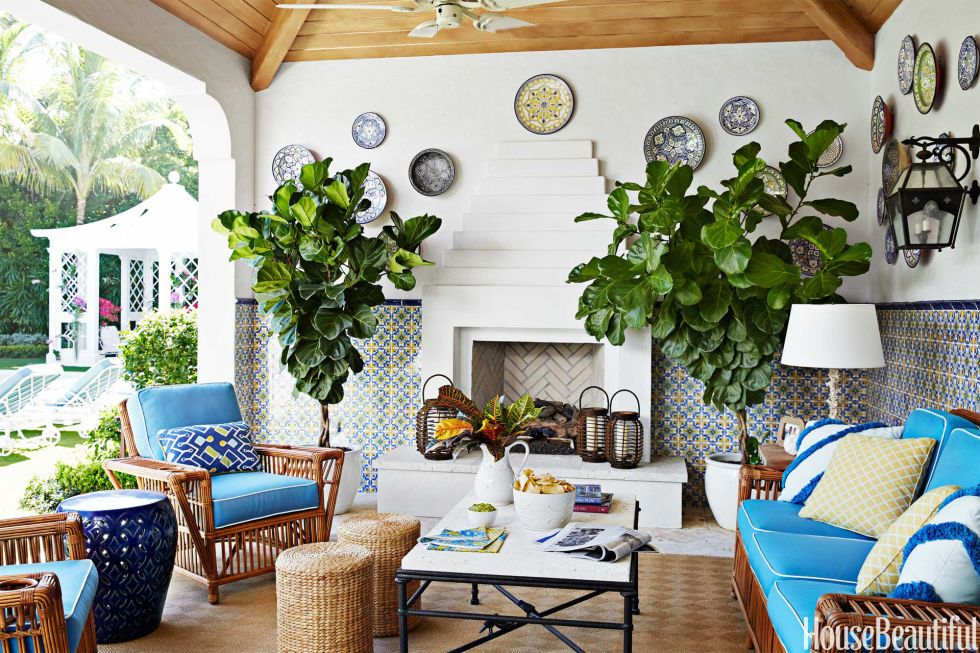 20 Gorgeous Outdoor Fabrics For Summer Palm Beach Style
