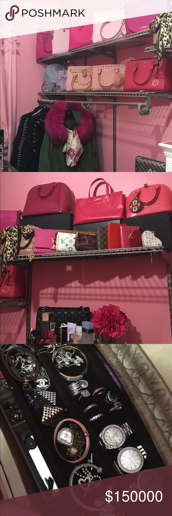 🌸MY CLOSET 🌸ASK IF LIKE SOMETHING Posting my closet if you see something you like just ask ... And maybe we can trade or sell ... 💐💕💕🌸 Louis Vuitton Bags