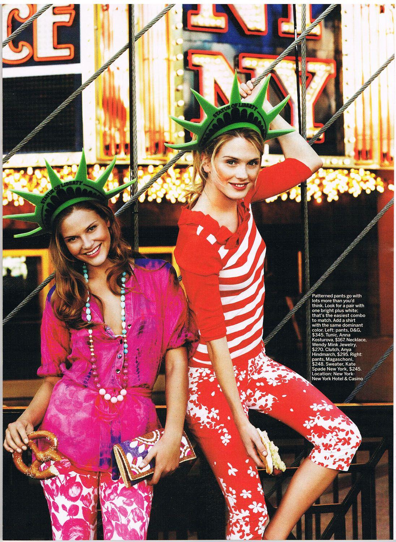 Anna Kosturova silk tie dye tunic in Self magazine