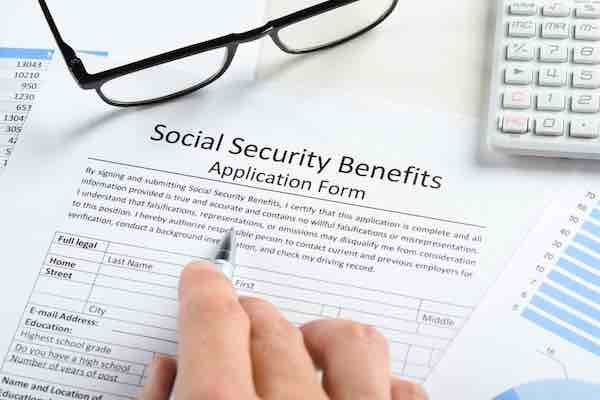 Requirements for full Social Security retirement benefits are - social security application form