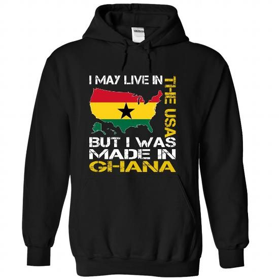 I May Live in the United States But I Was Made in Ghana Yellow T Shirts, Hoodies. Check price ==► https://www.sunfrog.com/States/I-May-Live-in-the-United-States-But-I-Was-Made-in-Ghana-Yellow-vcwgovdcvq-Black-Hoodie.html?41382 $39.99