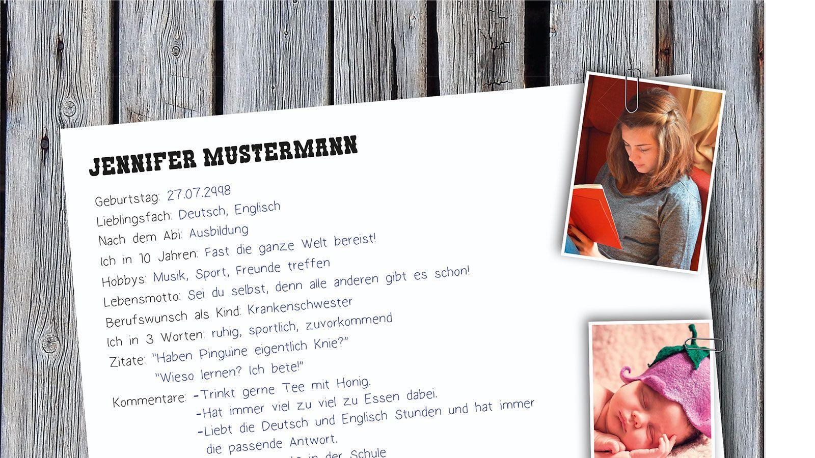 Abizeitung Drucken Steckbrief Abizeitung Gunstige Abizeitungen